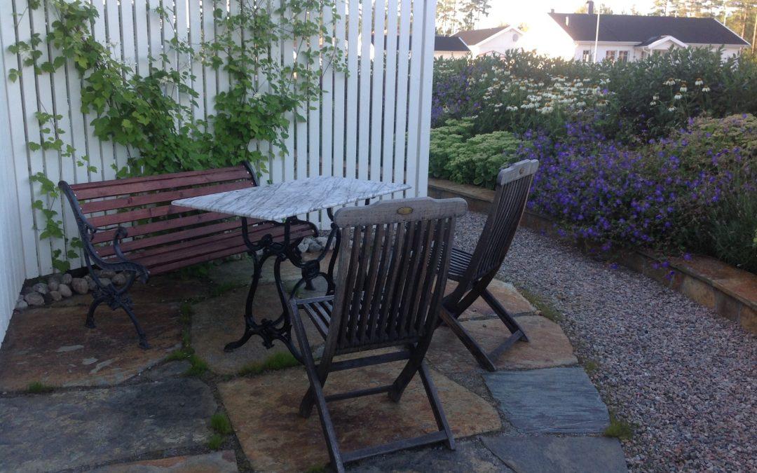 Privat trädgård, Hudiksvall