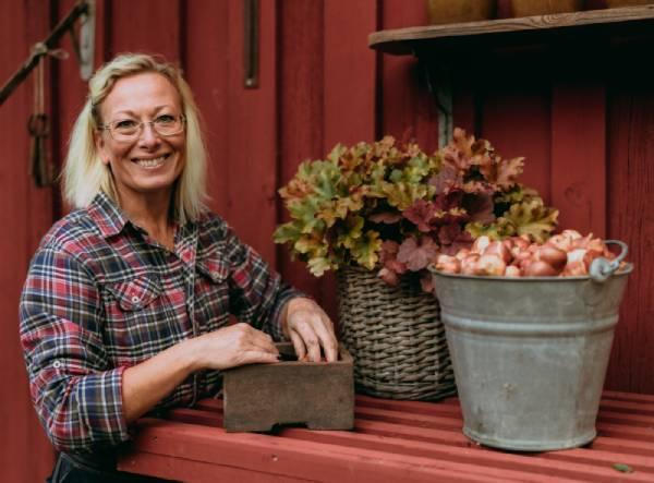 Lotta Berglo-Carlsson porträtt